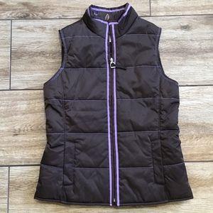Ariat Reversible Girls Vest Equestrian Print